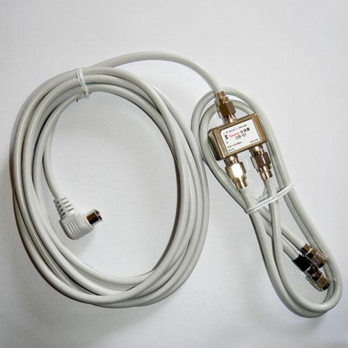 入・出力ケーブル付分波器